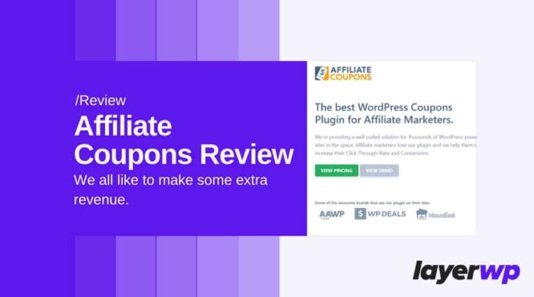 Affiliate Coupons Review