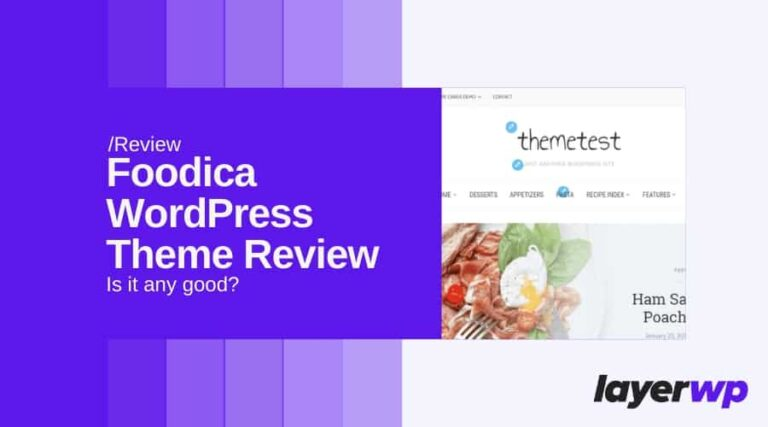Foodica Theme Review