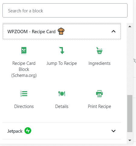 WPZOOM Recipe Card