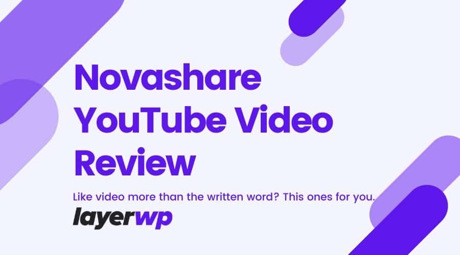 Novashare Video Review