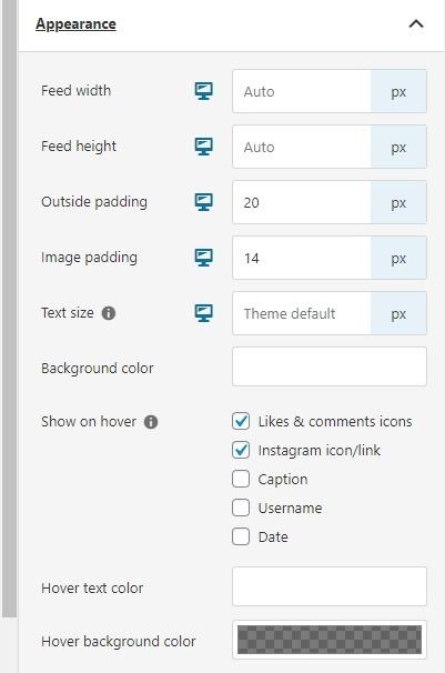 More appearance settings in Spotlight Pro screenshot