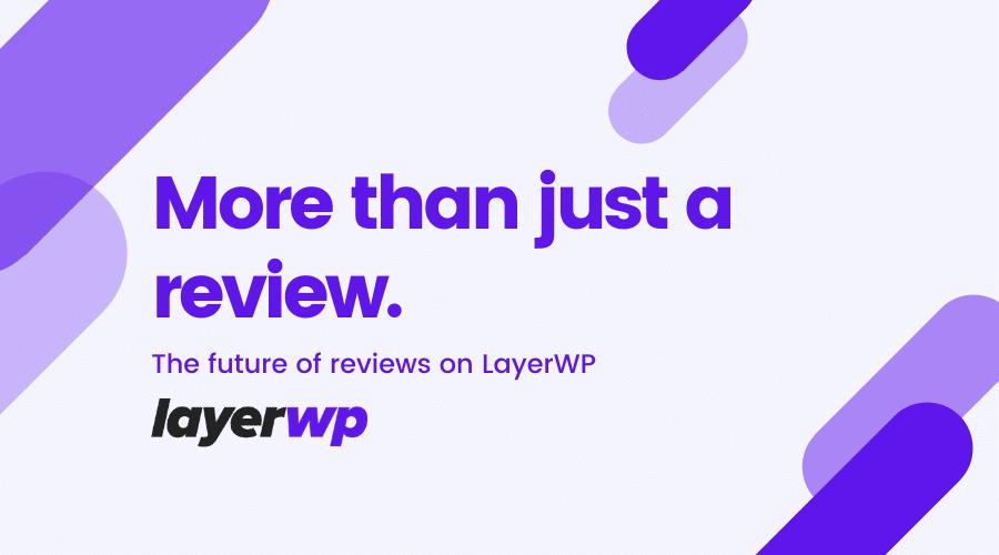 WordPress product reviews
