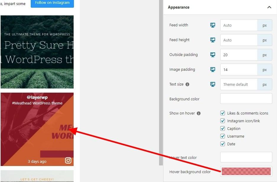 Color overlay in Spotlight Pro screenshot