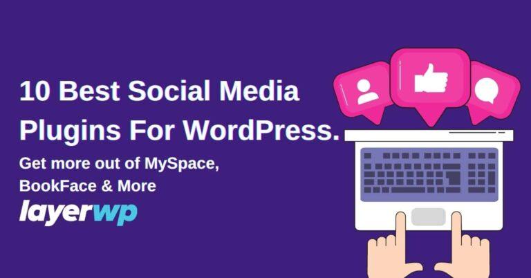Best WordPress Social Media Plugins 2021