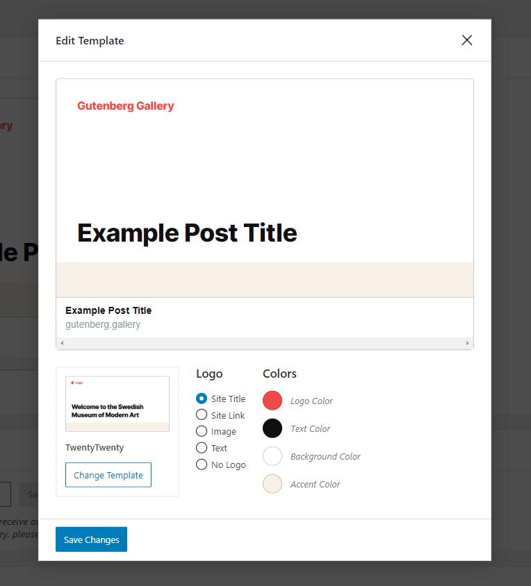 Screenshot of the social media image template in SIG (social media generator plugin)