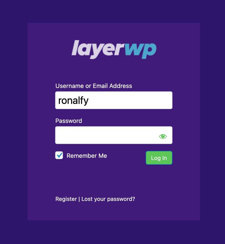 LayerWP Branda Login Customization