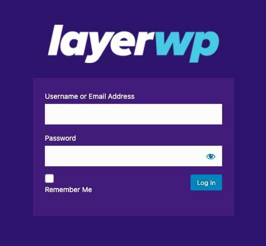 LayerWP Custom Login by Colorlib