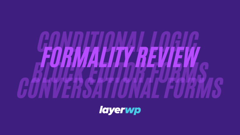 Formality Plugin Review